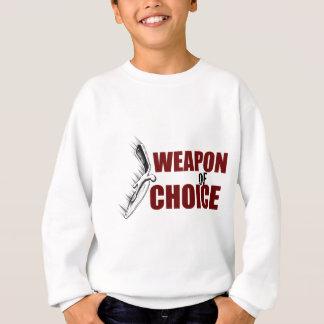 選択の武器 スウェットシャツ
