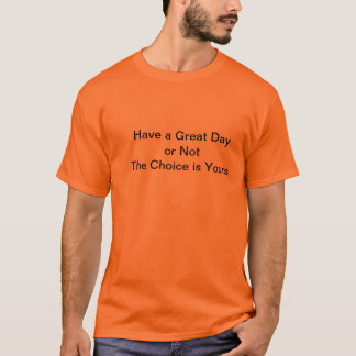 選択はあなたのです Tシャツ