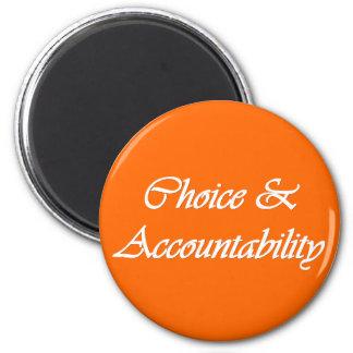 選択及び責任能力-個人的な進歩の価値 マグネット