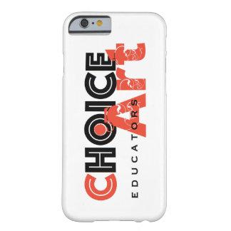 選択芸術の教育者のiPhone 6、6S場合 Barely There iPhone 6 ケース
