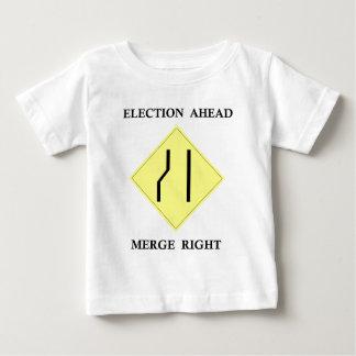 選挙の前方に併合の権利 ベビーTシャツ