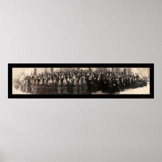 選挙権のセントルイスMOの写真1919年 ポスター