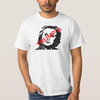 選挙2016年: TRUMP'DのTシャツ Tシャツ