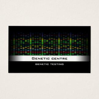 遺伝子検査-遺伝子の研究の名刺 名刺
