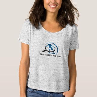 避難所ペットは最も最高のです Tシャツ