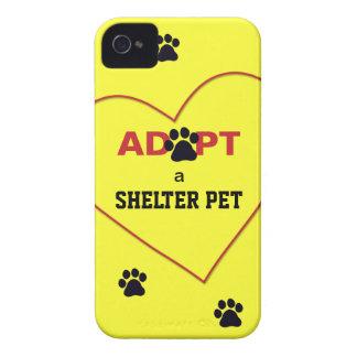 避難所ペットを採用して下さい Case-Mate iPhone 4 ケース