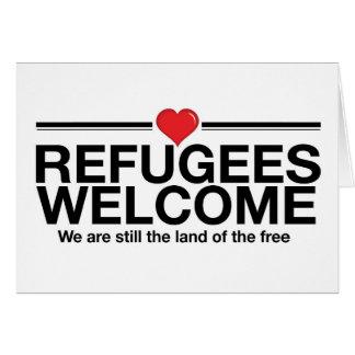 避難者の歓迎 カード