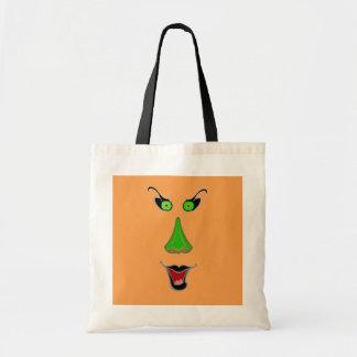 邪悪で悪賢い魔法使い-ハロウィンのトリック・オア・トリートのバッグ トートバッグ