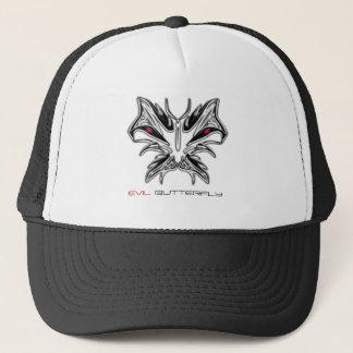 邪悪なガラス蝶帽子 キャップ