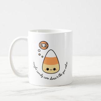 邪悪なキャンデートウモロコシ コーヒーマグカップ