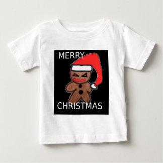 邪悪なジンジャーブレッドの男の子 ベビーTシャツ