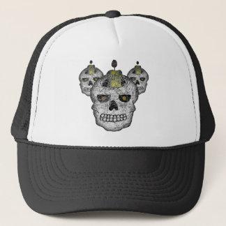 邪悪なスカルの帽子 キャップ
