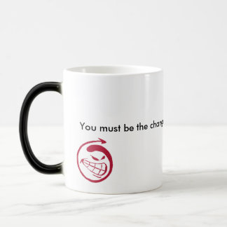 邪悪なスマイル、あなたが…ほしい変更でなければなりません マジックマグカップ