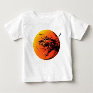 邪悪なドラゴン ベビーTシャツ