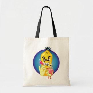 邪悪なバナナの皮 トートバッグ