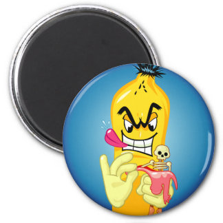 邪悪なバナナの皮 マグネット