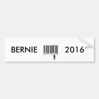 邪悪なバーコードからつるしている人を持つベルニー2016年 バンパーステッカー