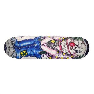 邪悪なピエロ板だけ スケートボードデッキ