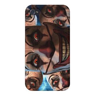 邪悪なピエロ iPhone 4/4S カバー