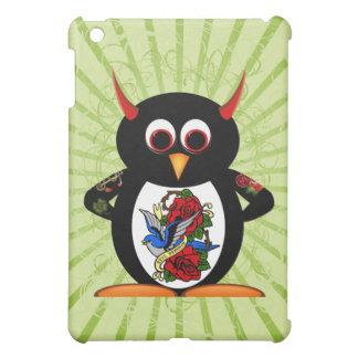 邪悪なペンギンによって入れ墨されるペンギン iPad MINIケース