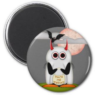 邪悪なペンギンのハロウィンの幽霊の磁石 マグネット