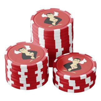 邪悪なポーカー用のチップを聞かないで下さい ポーカーチップ