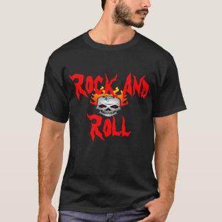 邪悪なロックンロールのワイシャツ Tシャツ