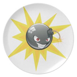 邪悪な円形の爆弾2 プレート