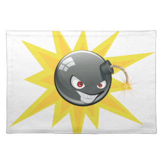 邪悪な円形の爆弾2 ランチョンマット