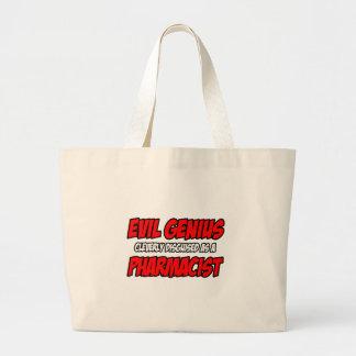 邪悪な天才…薬剤師 ラージトートバッグ