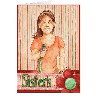 邪悪な姉妹-挨拶状 カード