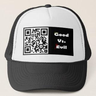 邪悪な帽子対よい キャップ