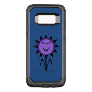 邪悪な花のかわいいのゴシックのハロウィンの電話箱 オッターボックスコミューターSamsung GALAXY S8 ケース