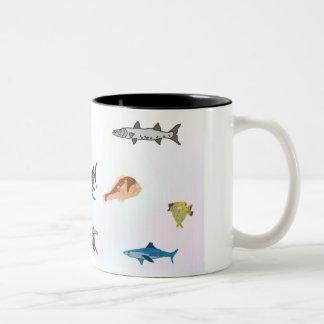 邪悪な魚のマグ第5 ツートーンマグカップ