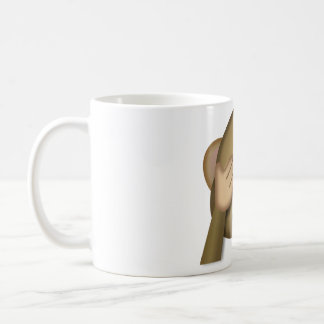 邪悪なemojiのマグを見ないで下さい コーヒーマグカップ