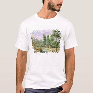 邸宅の地面の姿 Tシャツ