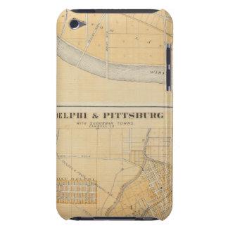 郊外の町が付いているデルファイ及びピッツバーグ Case-Mate iPod TOUCH ケース