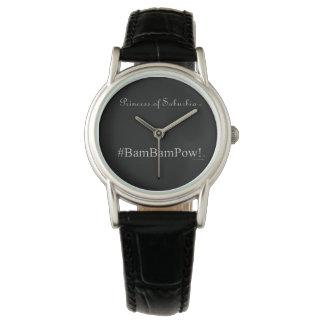 郊外の®の#BAM BAMの捕虜(TM)のプリンセス 腕時計