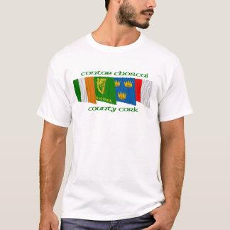 郡コルクの旗 Tシャツ