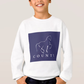 郡SADDLERYの馬場馬術のTシャツ スウェットシャツ