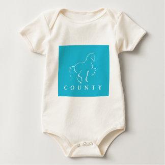 郡SADDLERYの馬場馬術 ベビーボディスーツ