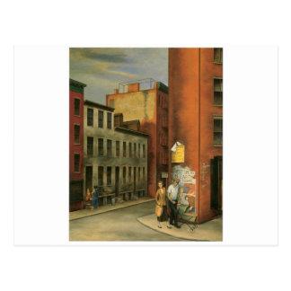 部屋通り、ニューヨークシティc. 1936年で見て下さい ポストカード