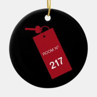 部屋217の鍵 セラミックオーナメント