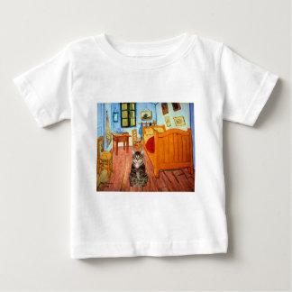 部屋-虎猫のトラネコ31 ベビーTシャツ