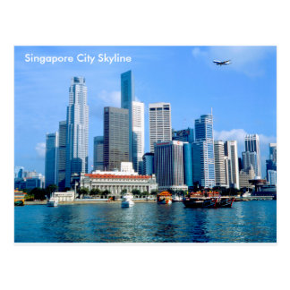 郵便はがきのためのシンガポールのイメージ ポストカード