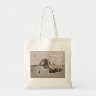 郵便はがきのトート-カイロ、エジプト トートバッグ