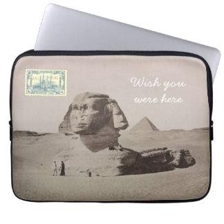 郵便はがきのラップトップスリーブ-カイロ、エジプト ラップトップスリーブ