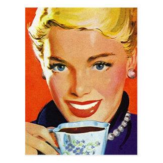 郵便はがきのヴィンテージのレトロのコーヒーKlatch KlatschのPC ポストカード