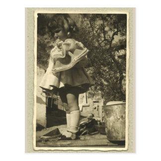 郵便はがきのヴィンテージのレトロRhotograph ポストカード
