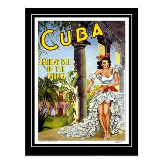 郵便はがきのヴィンテージ旅行キューバ ポストカード